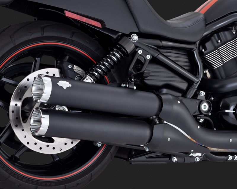 Vance & Hines Widow Slip-ons Performance Exhaust System