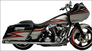 SuperTrapp 2:2 True Duals HP/HS Exhaust System in Chrome Finish For Harley Davidson FLH/FLT 1985-2008 (168-71574)