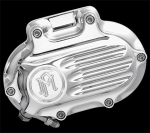Performance Machine Contour Hydraulic Clutch Housing Fluted in Polished Finish For 2006-2017 Dyna, 2007-2017 Softail, 2007-2013 Touring, 2014-2016 FLHR/C Touring Without Fairing Models (0066-2008)