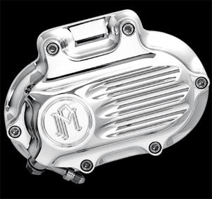 Performance Machine Hydraulic Clutch 6 Speed Fluted Housing In Chrome Finish For 2006-2017 Dyna, 2007-2017 Softail, 2007-2013 Touring, 2014-2016 FLHR/C Touring Without Fairings (0066-2008-CH)