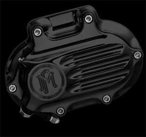 Performance Machine Hydraulic Clutch 6 Speed Fluted Housing In Black Finish For 2006-2017 Dyna, 2007-2017 Softail, 2007-2013 Touring, 2014-2016 FLHR/C Touring Without Fairing Models (0066-2008-B)
