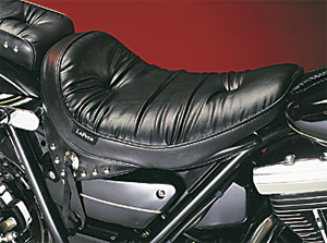 Le Pera Sanora Foam Solo Regal Plush With Skirt Seat For 1982-1994 FXR Models (L-223)