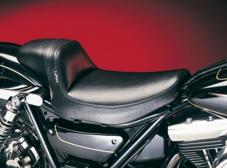 Le Pera Daytona Sport Foam Solo Seat With Smooth Cover For 1982-1994 FXR Models (L-828)