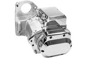 Jims USA 6-Speed Overdrive Transmission With Plain Aluminium Case For 1991-1999 Softail Models (8000C6)