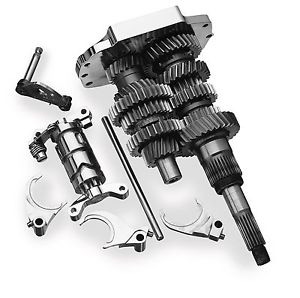 Baker Drivetrain Direct Drive 6-Speed Gear Set Kit For 90-97 FXST/C/S & FLST/C/N/F/D/S Models (1103-0001)