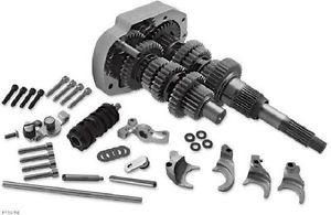 Baker Drivetrain 6-Speed Gear Set 2.94 First/.86 Sixth For 1989-1999 FXST/FLST, 1998 FXD/FXDWG & 1999 FXR Models (2017-1310)