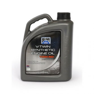 Bel-Ray V-Twin Motor Oil - V-Twin Oils 10W50 Synthetic - 4 Litres (ARM341219)