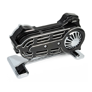 BDL EV-725B (2 Inch) Open Primary Belt Drive in Black Finish For 07-17 6-sp Softail (Excluding Rockers, Breakout, SE/CVO) (ARM451915)