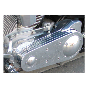 BDL SS-2 (2 Inch) Open Primary Belt Drive in Polished Finish (Plain Design) For 90-06 Softail (ARM729815)