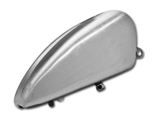 Custom Chrome Smooth Bottom Tank For 82-94 Sportster Motorcycles (15664)