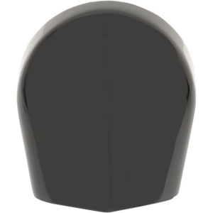 Drag Specialties Horn Cover Kit In Black For 1993-2020 Touring Models (14-0512GB)