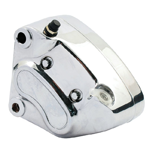 Doss Left Front OEM Style Caliper In Chrome For 2000-2007 Softail, Dyna, Touring And 2000-2003 XL (Excl. Springers) (ARM468019)