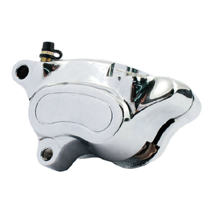 Doss Left Front OEM Style Caliper In Chrome For 2008-2015 Softail And Dyna (Excl. Springers) (ARM220205)