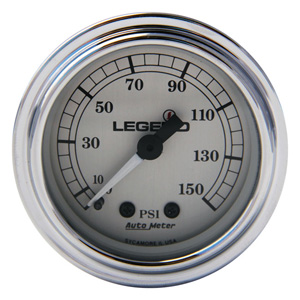 Legend Air Suspension Air Gauge In Silver (2212-0485)
