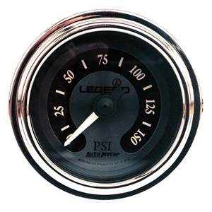 Legend Air Suspension Air Gauge In Titanium (2212-0493)