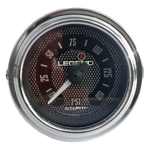 Legend Air Suspension Air Gauge In Diamond Cut (2212-0494)