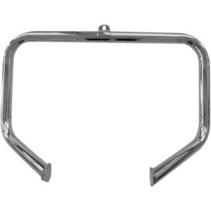 Drag Specialties Big Buffalo Front Engine Bars In Chrome Finish For 00-10 FXST, FXSTB, FXSTD, FXSTS (05060497)