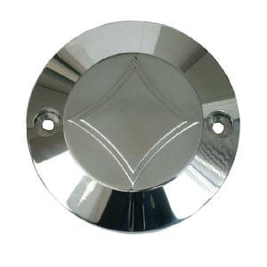 CPV Diamond Point Cover In Polished Finish For 1970-1999 B.T And 1971-2011 XL Models (ARM009279)
