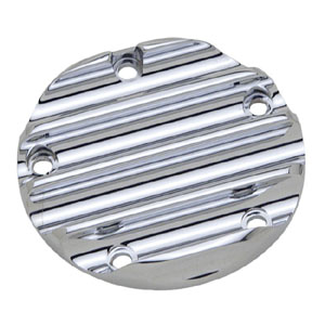 Covingtons Customs (5-Hole) Point Cover In Chrome For 1999-2017 Twin Cam Models (ARM487359)
