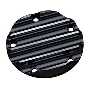 Covingtons Customs (5-Hole) Point Cover In Black For 1999-2017 Twin Cam Models (ARM387359)