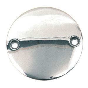 Doss Domed (2-Hole) Point Cover In Chrome For 1970-1999 Big Twin (Excl. TC) And 1971-2003 XL (ARM546115)