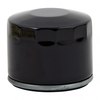 DOSS Spin-On Oil Filter in Black Finish For 1980-Early 1984 XL Sportster, Late 1982-1984 FL, FX (Short) Models (ARM570805)