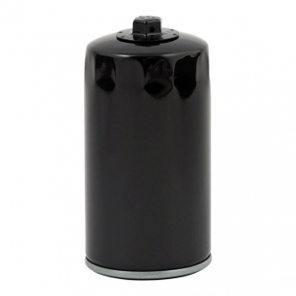 DOSS Spin-On Oil Filter With Top Nut in Black Finish For 1991-1998 Dyna Glide Models (ARM625805)