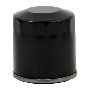 DOSS Spin On Oil Filter In Smooth Black Finish For 03-10 Buell XB Models (Repl. 63806-00Y) (ARM776215)
