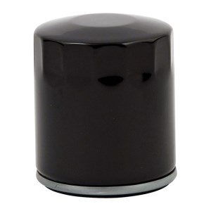 DOSS Spin On Oil Filter In Smooth Black Finish For 02-17 V-Rod (Repl. 63793-01K) (ARM333215)