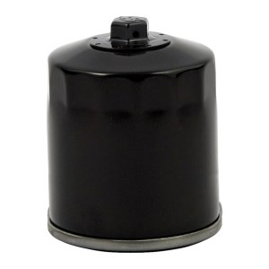 DOSS Spin On Oil Filter In Black Finish With Top Nut For 02-17 V-Rod (Repl. 63793-01K) (ARM925805)