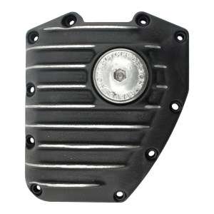 EMD Snatch Cam Cover In Black Cut Finish For 99-17 Twin Cam (ARM838469)