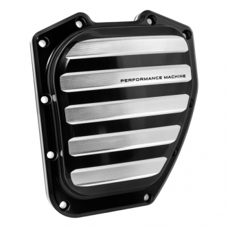 Performance Machine Drive Design Twin Cam Cover In Contrast Cut Finish For 01-17 Softail, Dyna (0177-2036-BM)