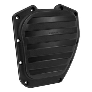 Performance Machine Drive Design Twin Cam Cover In Black Ops Finish For 01-17 Softail, Dyna (0177-2036-SMB)