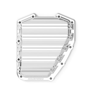 Arlen Ness 10-Gauge Twin Cam Cam Cover In Chrome Finish For Harley Davidson 2001-2017 Dyna & Softail & 2001-2016 Touring Models (03-962)