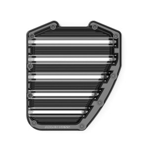 Arlen Ness 10-Gauge Twin Cam Cam Cover In Black Finish For Harley Davidson 2001-2017 Dyna & Softail & 2001-2016 Touring Models  (03-963)