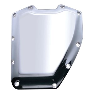 Covingtons Customs Smooth Design Billet Cam Cover In Chrome Finish For 01-17 Twin Cam (ARM949359)