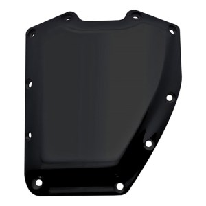 Covingtons Customs Smooth Design Billet Cam Cover In Black Finish For 01-17 Twin Cam (ARM849359)