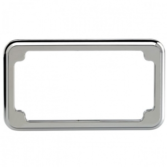 Joker Machine Blind Hole License Plate Frame Chrome (921209C)