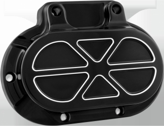 Performance Machine Hydraulic 6 Speed Clutch Formula Cover in Contrast Cut For 2014-2016 Touring With Fairing (Excluding FLHR/C) Models (0066-2036-BM)