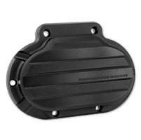 Performance Machine Hydraulic 6 Speed Clutch Slave Drive Cover For 2014-2016 FLH In Black Ops (0066-2033-SMB)