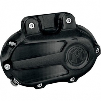 Performance Machine Hydraulic 6 Speed Scallop Clutch Cover in Black Ops Finish For 2014-2016 Touring With Fairing (Excluding FLHR/C) Models (0066-2030-SMB)