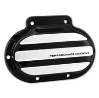 Performance Machine Hydraulic 6 Speed Clutch Drive Cover in Contrast Cut Finish For 2014-2016 Touring With Fairing (Excluding FLHR/C) Models (0066-2033-BM)