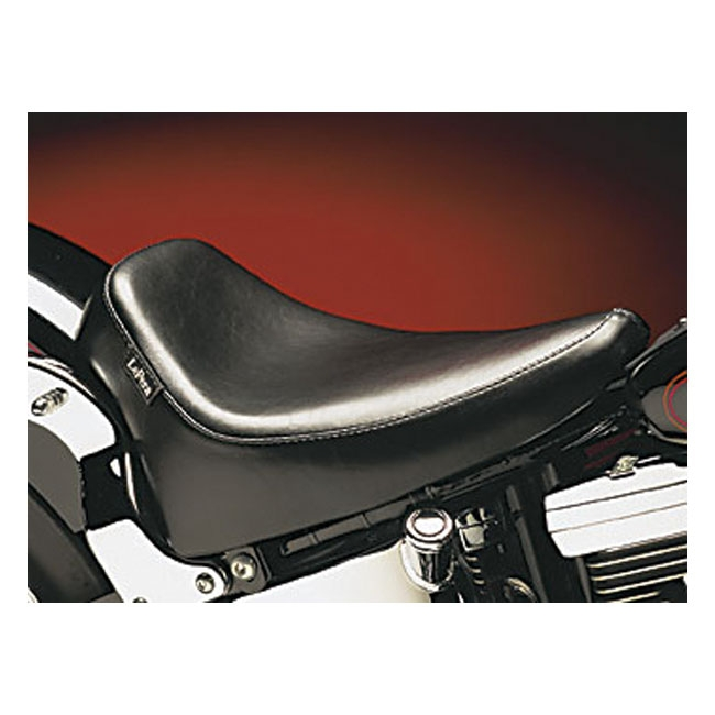 LePera Smooth Silhouette Deluxe Solo Seat for 2000-2007 Harley Softail Models