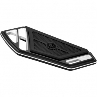 Performance Machine Superlight Passenger Floorboards In Contrast Cut For 1986-2017 Harley Davidson Models (0036-1015-BM)