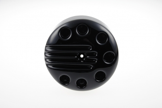 Cult Werk Slotted Air Filter Cover in Gloss Black Finish For 2016-2020 XL Sportster Models (HD-SPO080)
