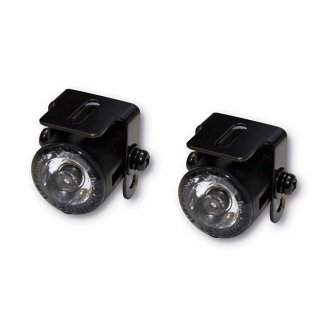 Doss Winona LED Parking Light EC Approved Lens in Black Metal Housing Finish (ARM456349)
