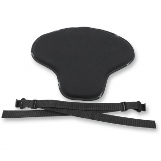 Saddlemen Low-Profile Seat Pad Soft Stretch / Universal / Saddlegel in Black Finish (TS526)