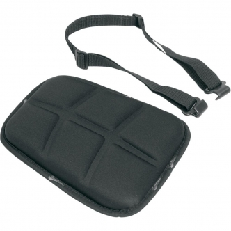 Saddlemen Medium Tech Memory Foam Seat Pad in Black Finish (0810-0522)