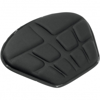 Saddlemen Large Tech memory Foam Seat Pad in Black Finish (0810-0521)