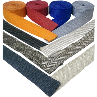 Cycle Performance Exhaust Wrap in Natural Stainless Steel Finish 2 Inch x 50 (CPP/9143-50)